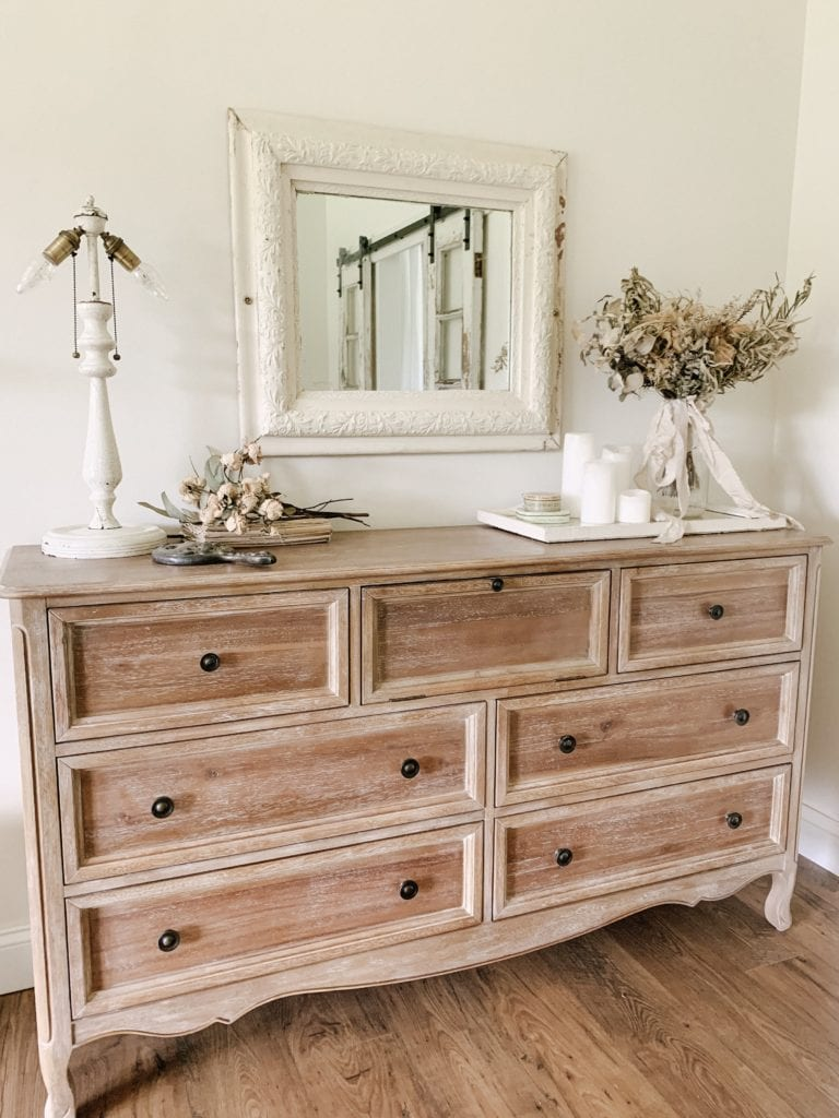 Styling Our Master Bedroom Dresser