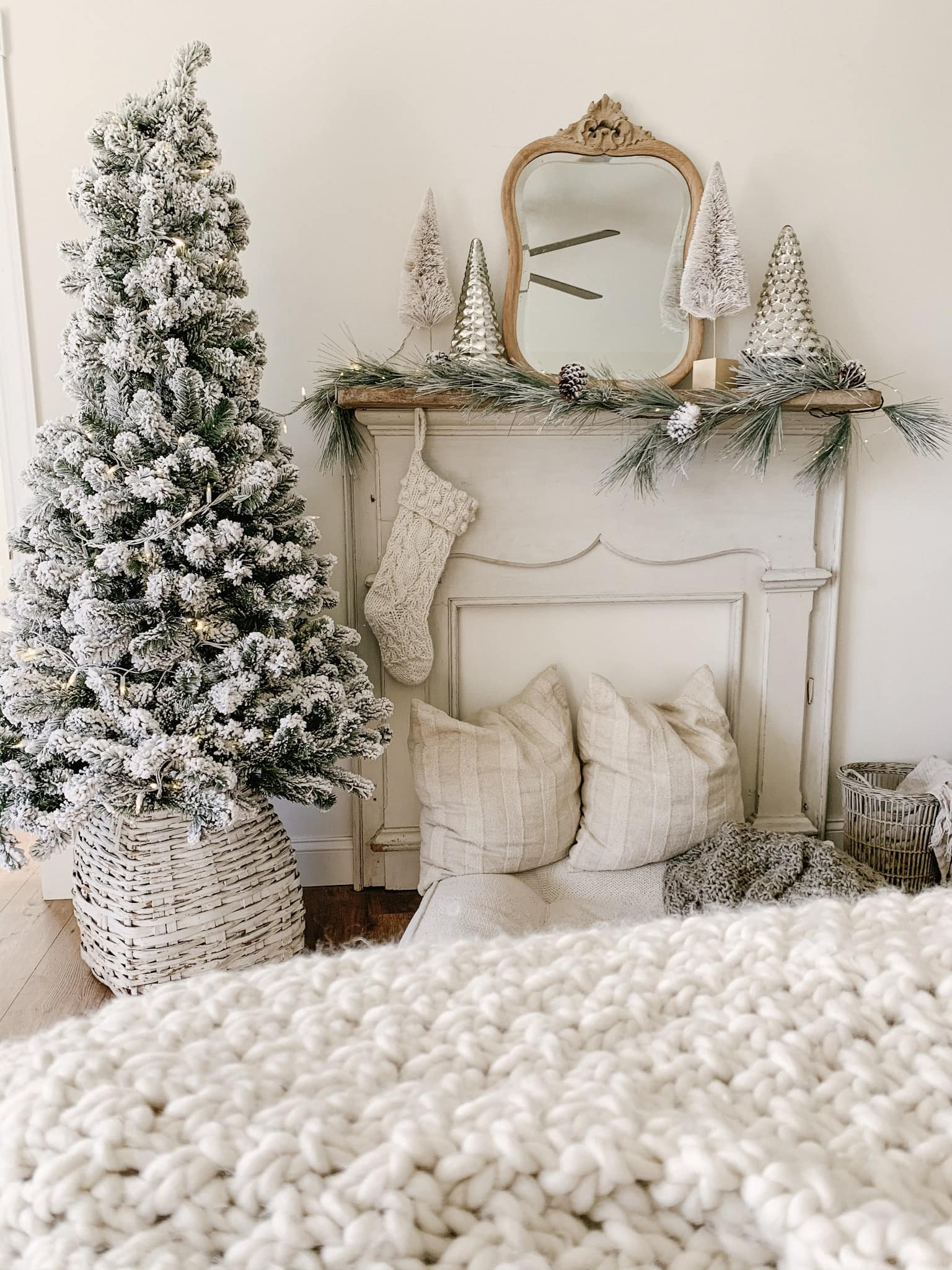 How To Make Your Christmas Tree Look Taller Sarah Jane Interiors